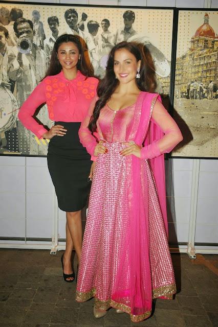 Elli Avram and Looks Daisy Shah Looks Smoking Hot