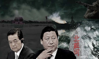 习近平胡锦涛与虎王江泽民的生死斗
