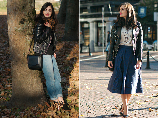 coco and vera, top vancouver style blog, one jacket ten ways, remix, vegan leather jacket