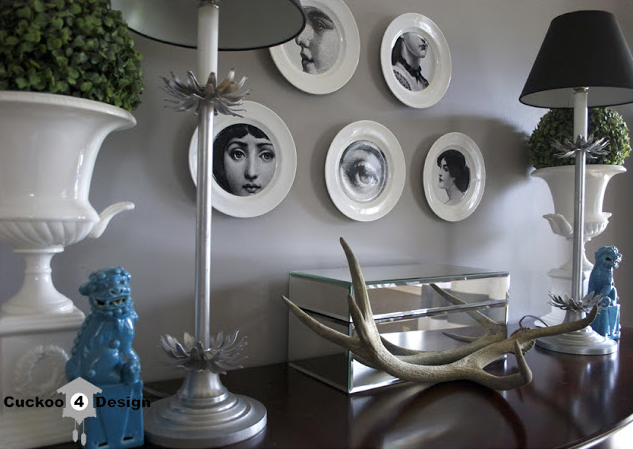 DIY Pierro Fornasetti plates