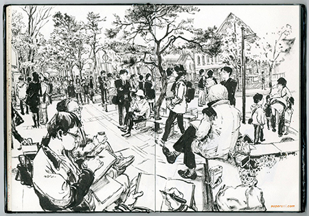 Los dibujos de Kim Jung Gi