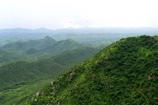 Aravalli Landscape in India
