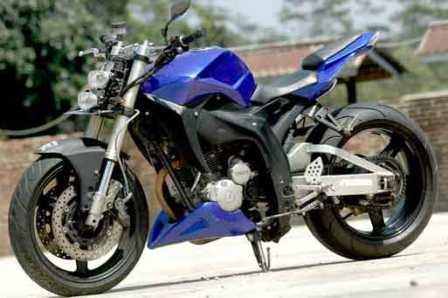 Gambar Modifikasi Motor Yamaha Scorpio Z Terbaru 2013 title=