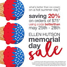 Ellen Hutson Memorial Day Sale