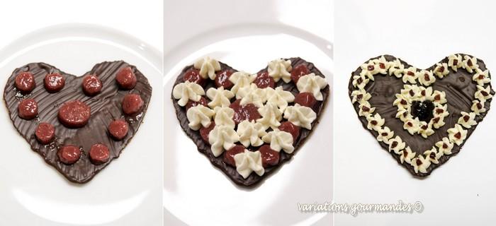 amarena, cerises, chocolat blanc, chocolat noir, DESSERT, feuilles de brick, fève tonka, pâtisserie, Saint-Valentin, fête, amour, Antibes, artisanat, CHOCOLAT, février, salon, événement, griottes,