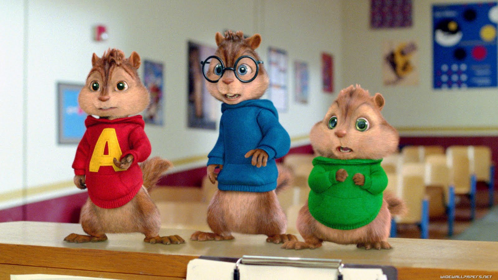 free cool wallpapers alvin and the chipmunks