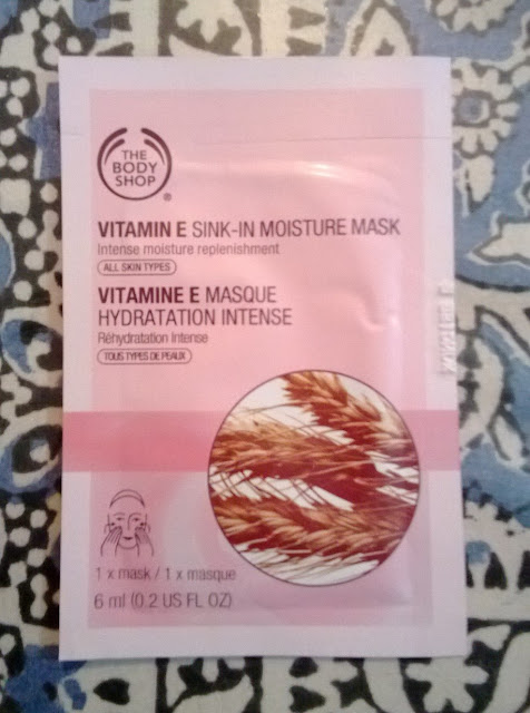 The Body Shop Vitamin E Sink-In Moisture Mask Review