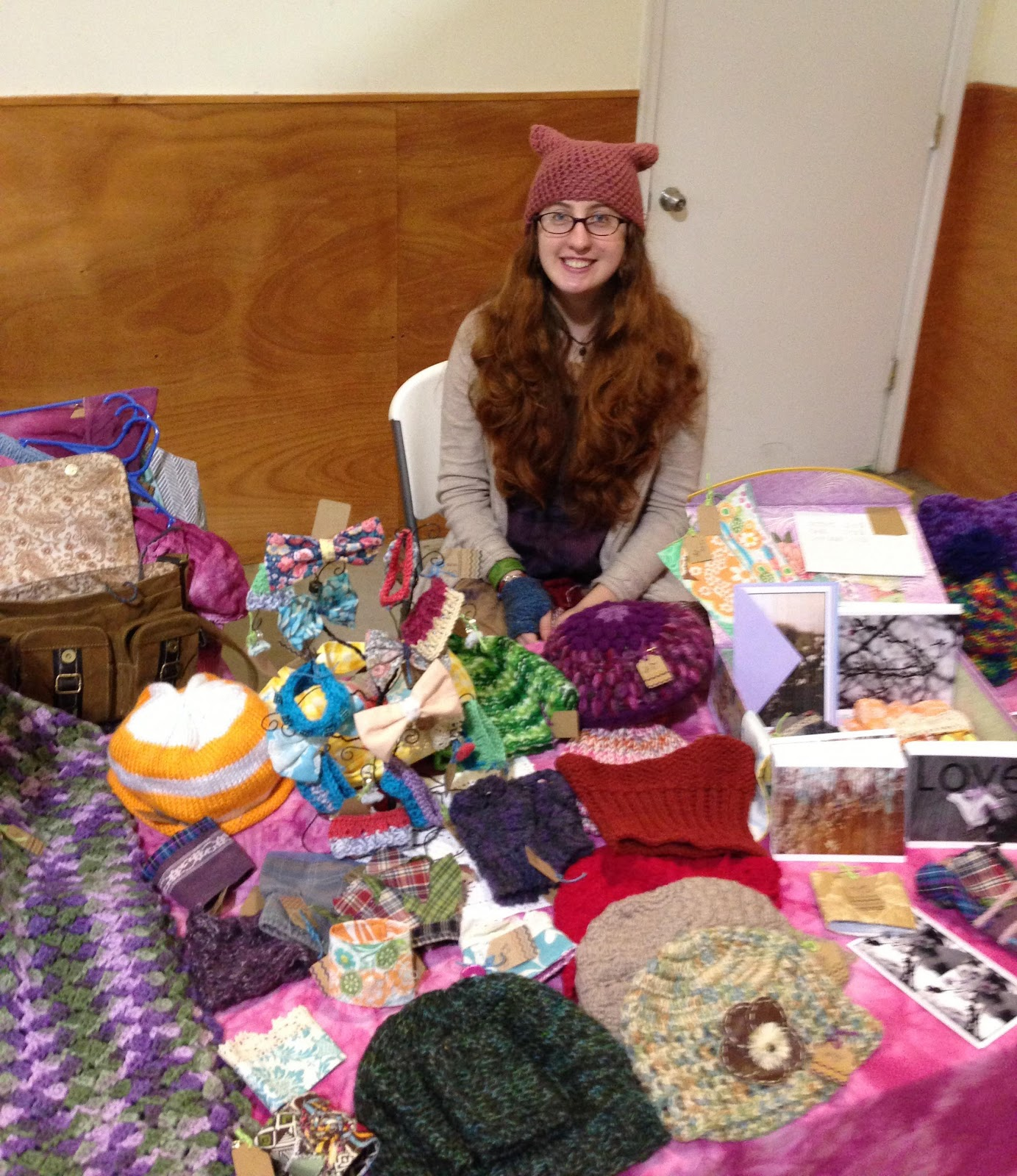 Kitty adventures tips for selling items at a crafts fair for Sewing to sell at craft fairs