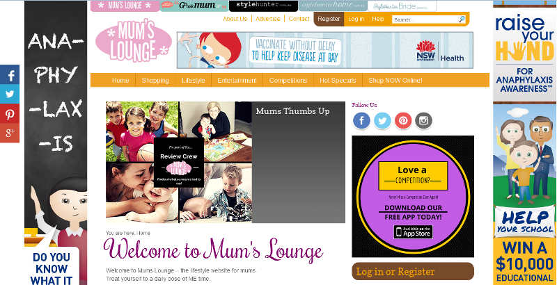 great website for mums