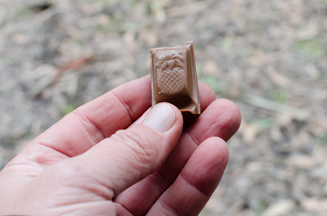 pineapple piece from cadbury snack chocolate block