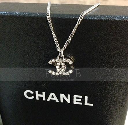 Chanel Classic cc Necklace Chanel Classic cc Silver