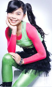 Gambar Adik Syazwani Sapari Seksi Juara Kamilah Bintang