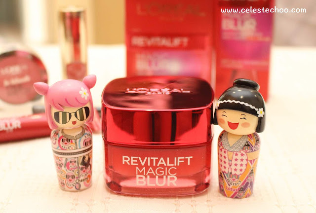 skincare-loreal-paris-magic-blur-moisturizer-and-dolls