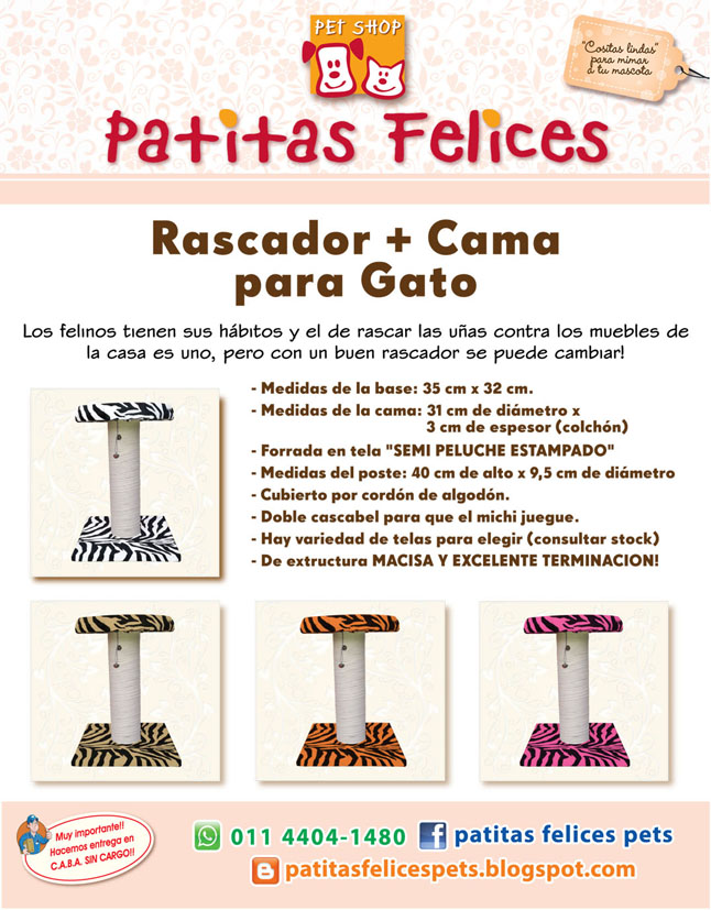 PATITAS FELICES PET