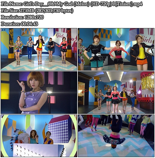Girl's Day - Oh! My God (Melon HD 720p)