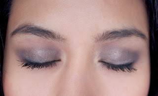 Naked palette smokey eye look