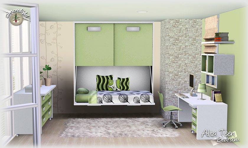 Bedroom Designs Sims 3 my sims 3 blog: alta teen bedroom setsimcredible designs