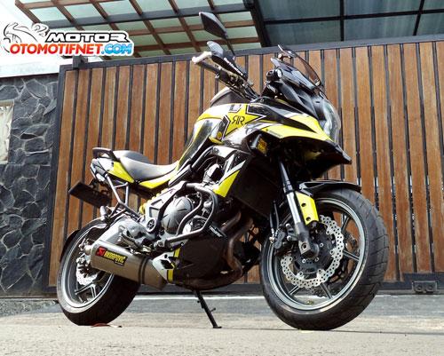 Modifikasi Kawasaki Versys, Spesial Trek Jauh
