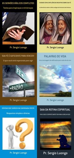 ADQUIRA OS LIVROS DO PR. SERGIO LUONGO