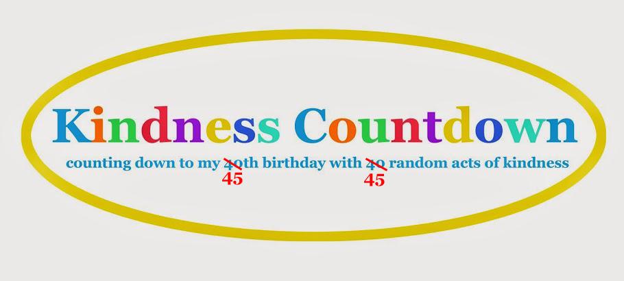 Kindness Countdown