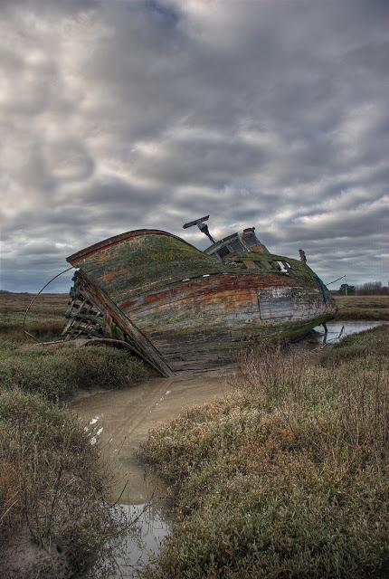épave bateau hdr, photo epave bateau, photo hdr fabien monteil