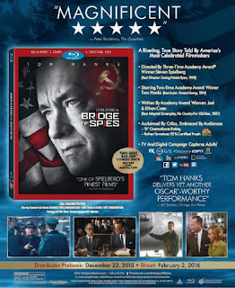 bridge of spies blu-ray