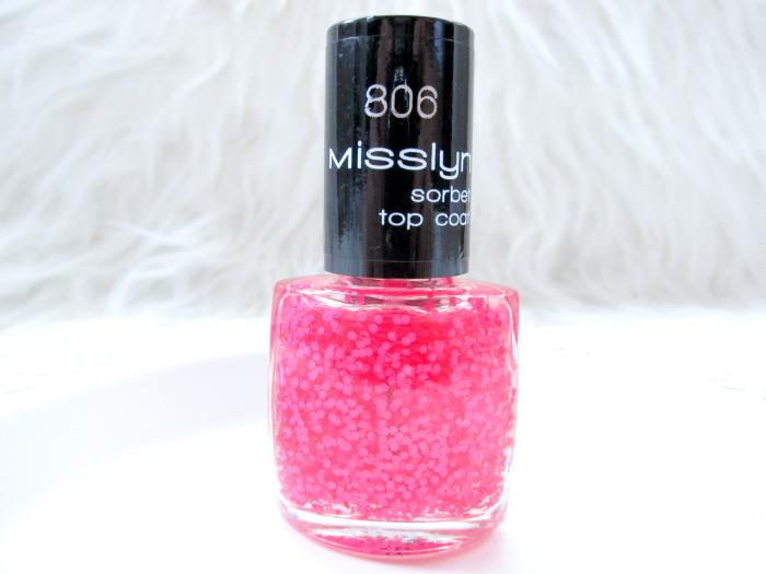 Misslyn Forbidden Fruits Kollektion - Sorbet Top Coat - No.806 Cold Raspberry - 4.95 Euro