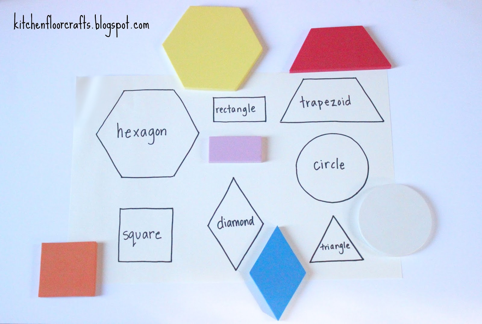 Kitchen Floor Crafts Shape Search in a Fall Backyard
