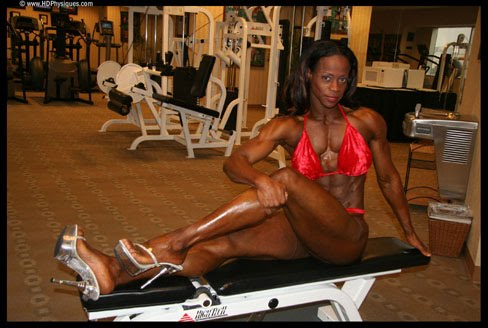 Jackie Christopher Female Bodybuilder Legs Muscle Blog