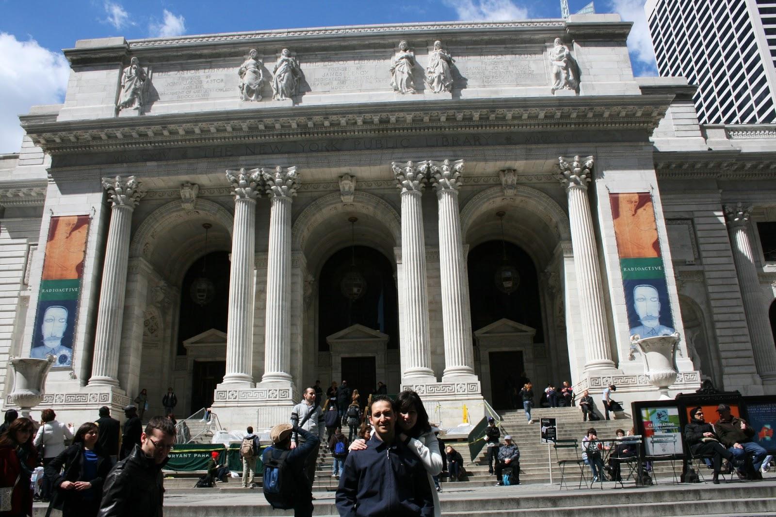 new york 5ª avenida biblioteca library