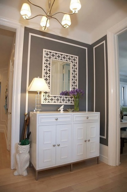 Narrow Entryway Armoire : Jill rosenwald the old narrow entryway problem