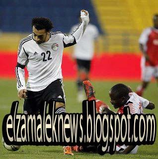 إبراهيم صلاح لاعب وسط منتخب مصر