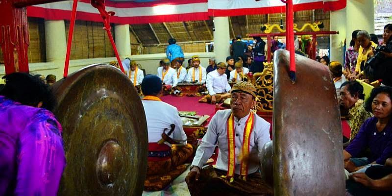 Gamelan Mark Ritual Sekaten Surakarta
