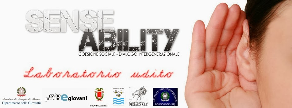 SENSE ABILITY / Laboratorio Udito