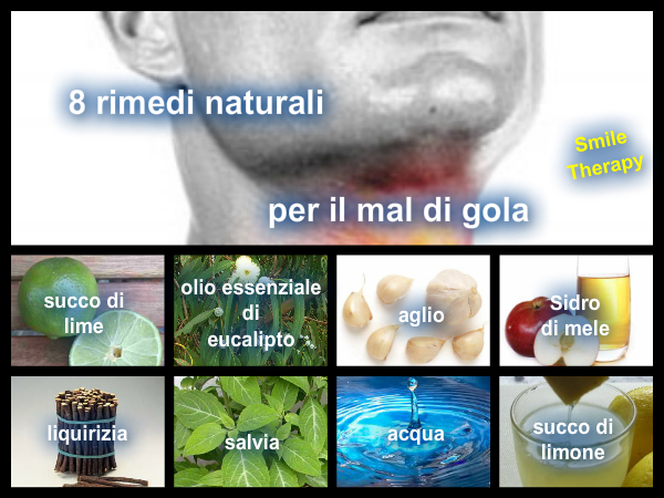 mal di gola qualche rimedio naturale in modo naturale