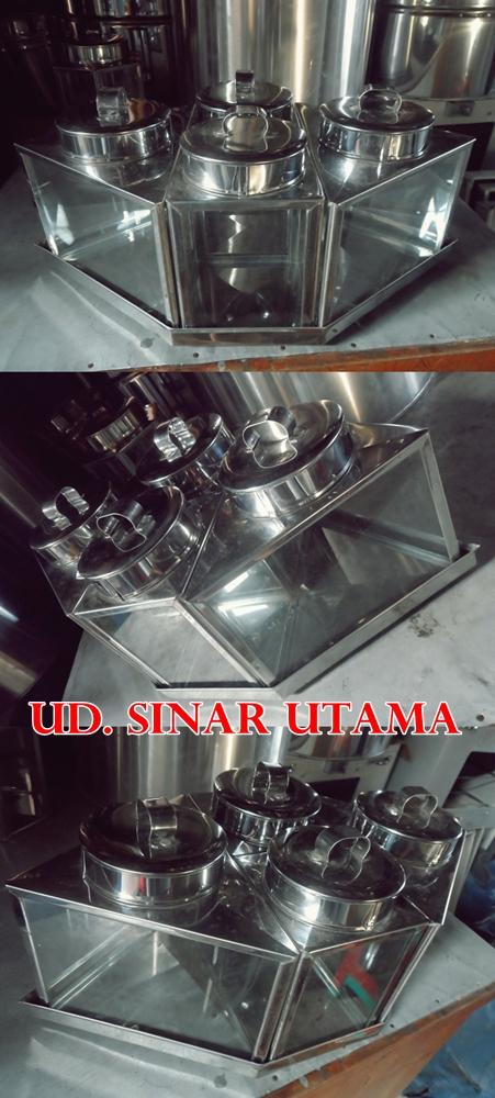 UD Sinar Utama TOPLES KACA SET