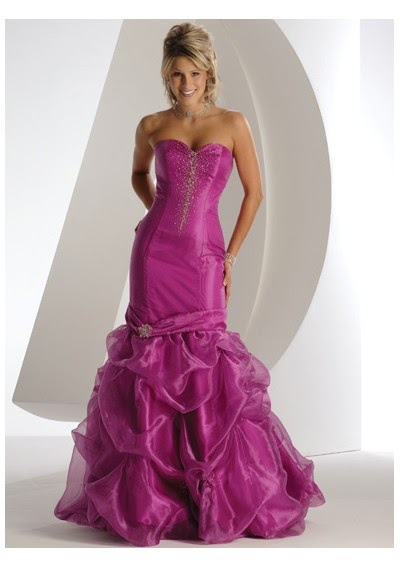 vestido sereia roxo para madrinha debutante - fotos e modelos