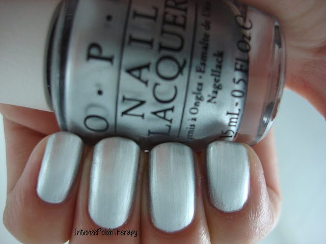 OPI - Silver Canvas