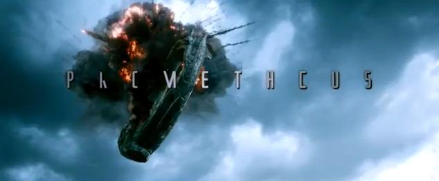 Prometheus 2012 movie trailer impressions sci-fi film trailer review cmaquest alien outer space
