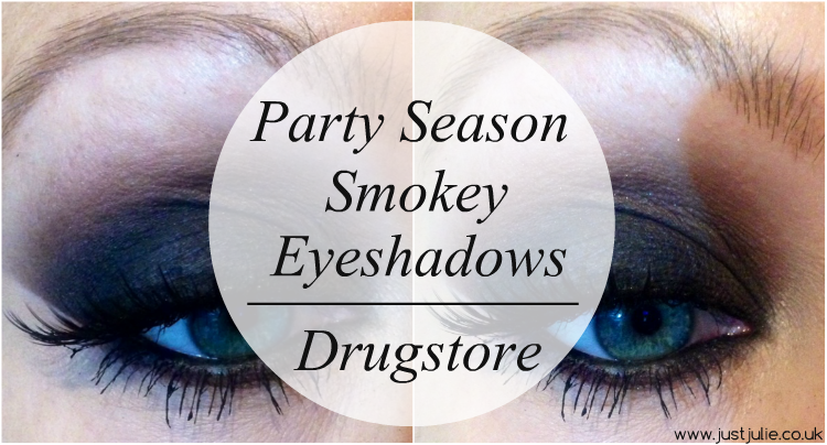 Party Season Smokey Eyeshadows | Drugstore