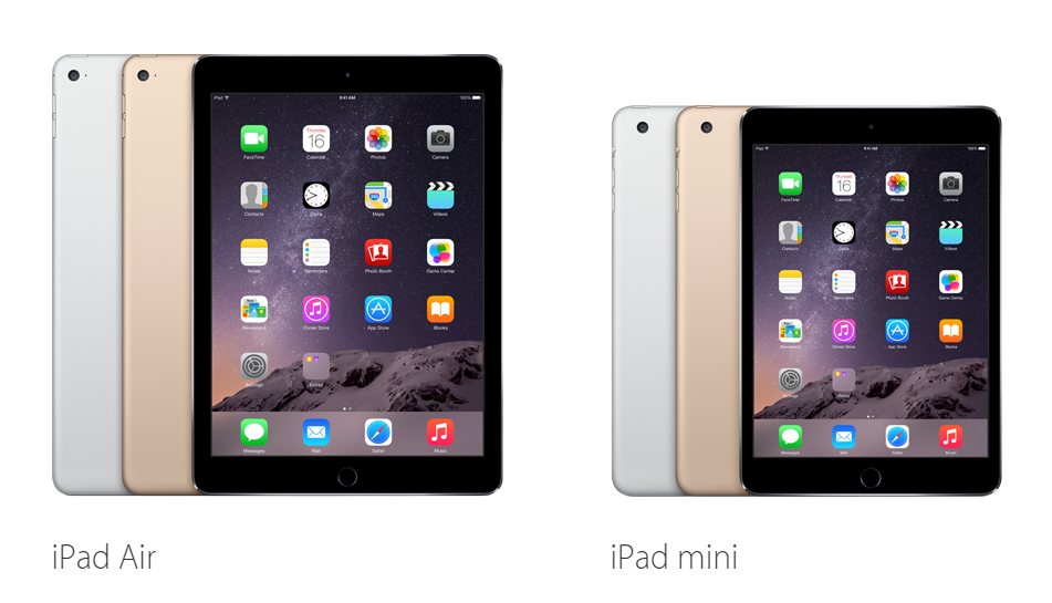 Ipad Terbaru Apple Ipad mini 3 VS Apple Ipad Air 2