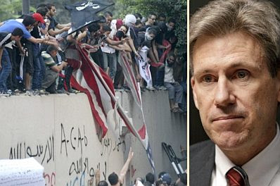 Riots in Cairo &#8212; US ambassador to Libya Chris Stevens