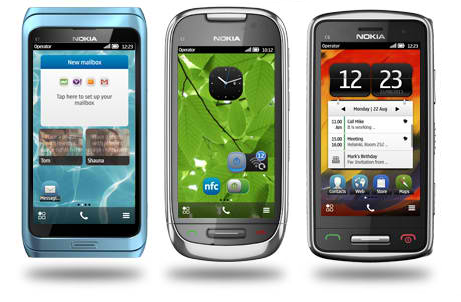Nokia Belle Phones