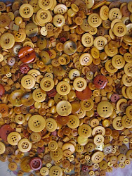 Butterscotch hand dyed buttons