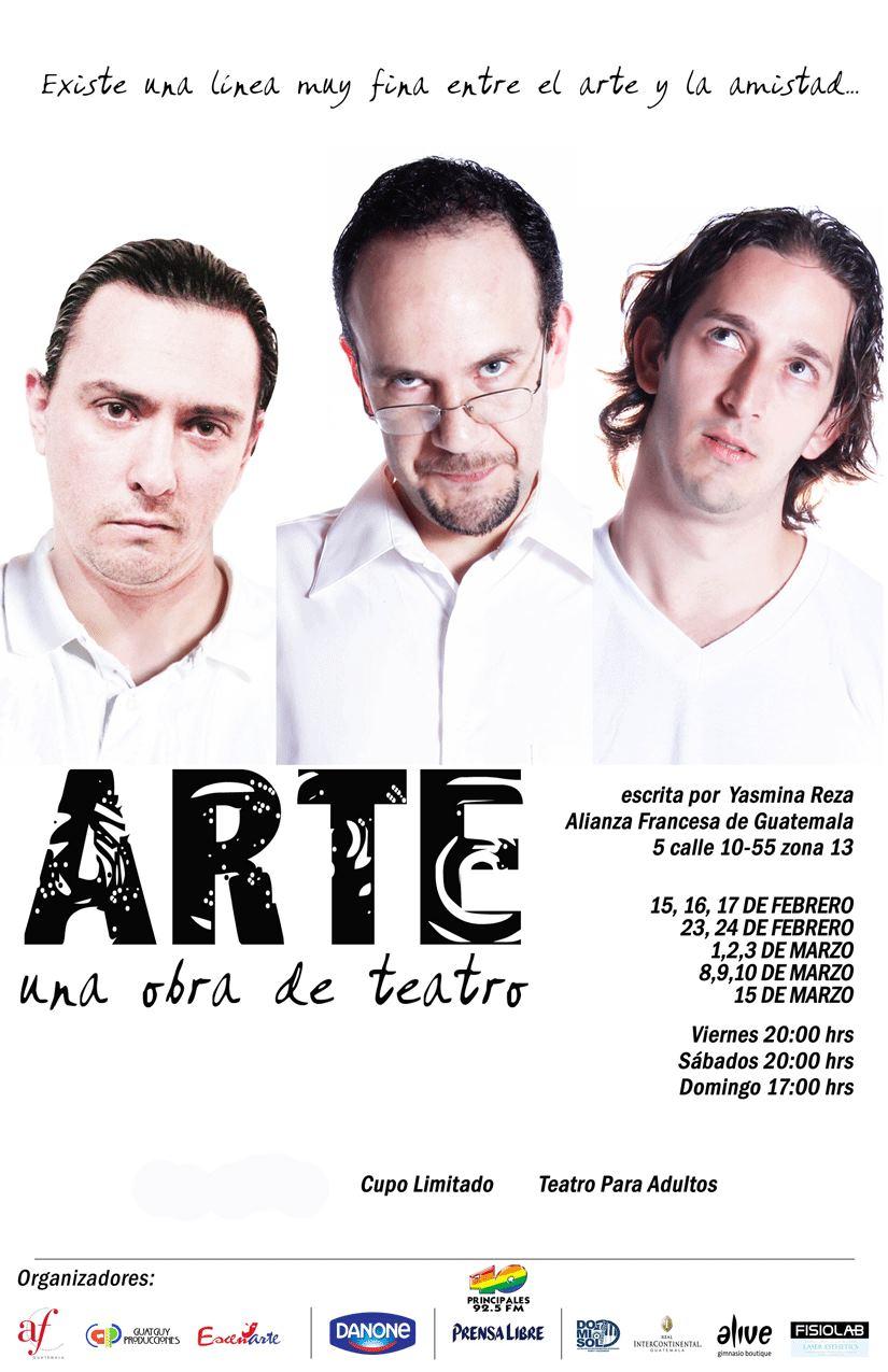 Obras Arte Arte Una Obra de Teatro