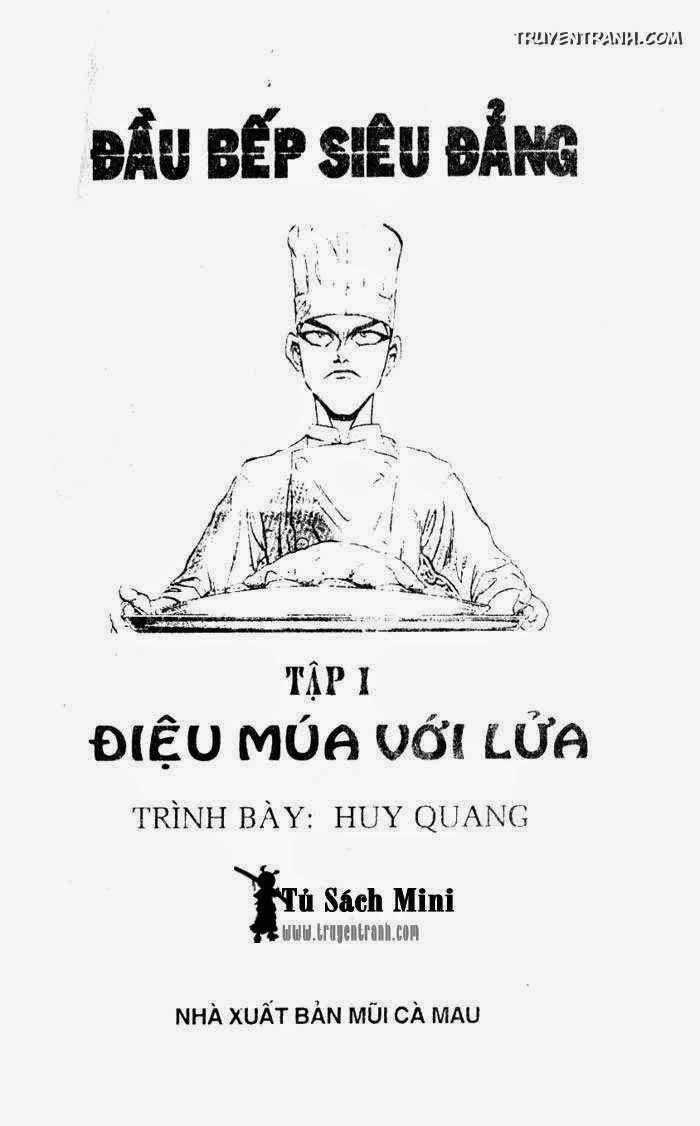Đầu bếp siêu đẳng (Iron Wok Jan) Chapter 1 - Trang 1