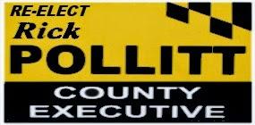 RE-ELECT Rick Pollitt County Executive