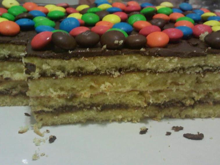 Torta Dannette c/ M&M´s