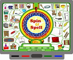 Play SPIN & SPELL