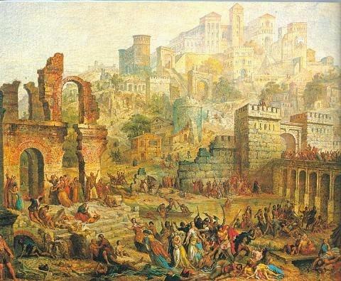 Jewish Pomgrom in Spain